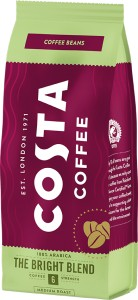 Costa Coffee kawa ziarnista Bright Blend 200g