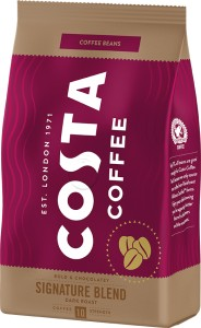 Costa Coffee kawa ziarnista Siganture Blend Dark 500g