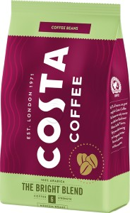 Costa Coffee kawa ziarnista Bright Blend Medium 500g