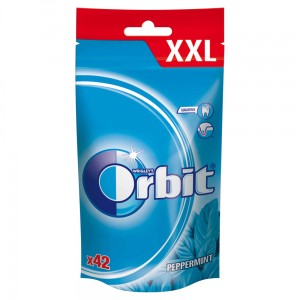 Orbit Peppermint Guma do żucia bez cukru 58 g (42 drażetki)