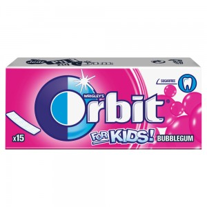 Orbit For Kids Classic Guma do żucia bez cukru 39 g (15 listków)