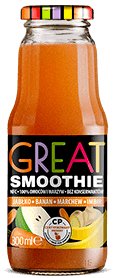 GREAT SMOOTHIE BANAN MARCHEW IMBIR