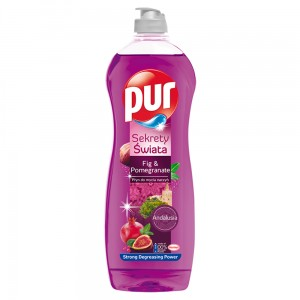 Pur Sekrety Świata Fig & Pomegranate Płyn do mycia naczyń 750 ml