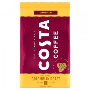 Costa Coffee Colombian Roast Medium Roast Kawa palona ziarnista 500 g